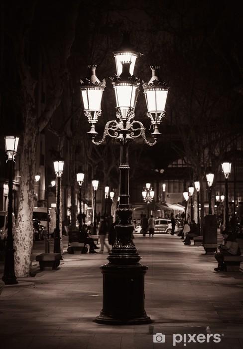 Fototapeta winylowa Stare latarni w mieście Barcelona - Tematy