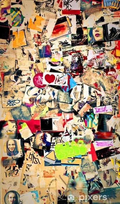 Sticker Pixerstick Stickers muraux - Groupes et foules