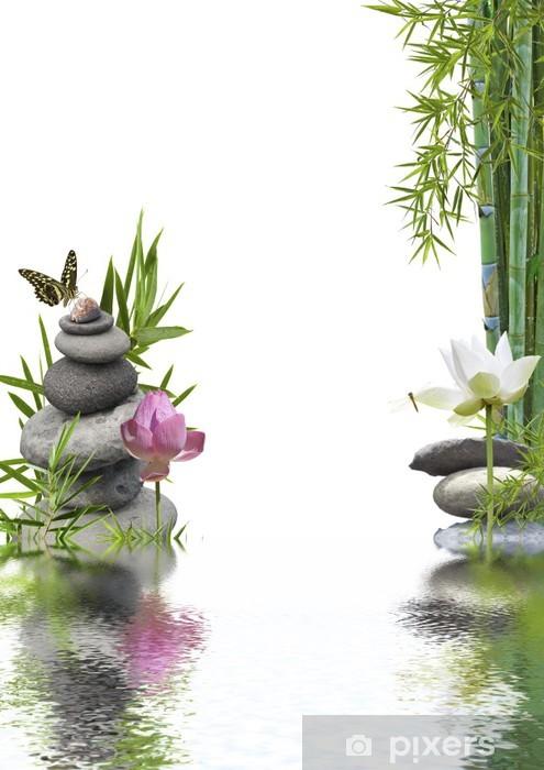 Pixerstick Sticker Samenstelling rustgevende inrichting welzijn - Planten