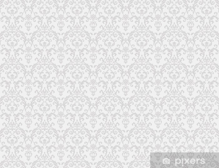Fototapeta samoprzylepna Biały kwiatowy wzór tapety - Tematy