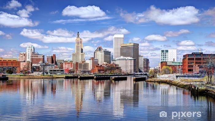 Fototapeta winylowa Providence, Rhode Island Skyline - Ameryka