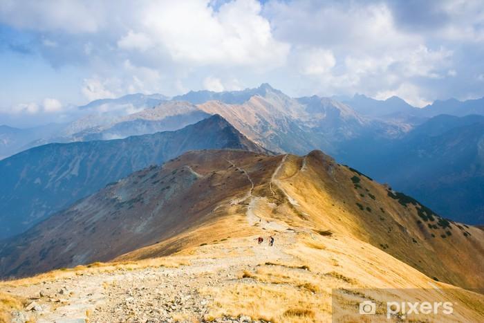 Fototapeta winylowa Czerwone Wierchy, Tatra Mountains, Poland - Pory roku