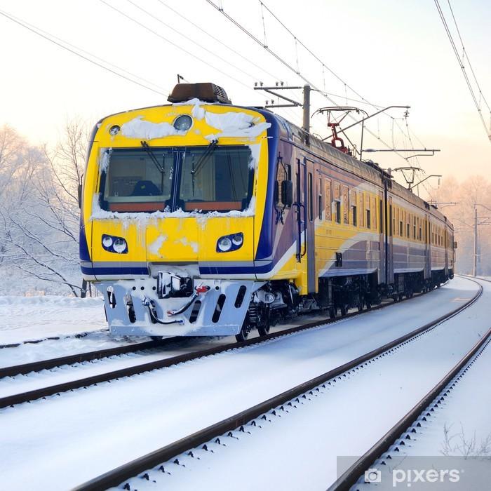 Plakat Pociąg w zimie - Tematy