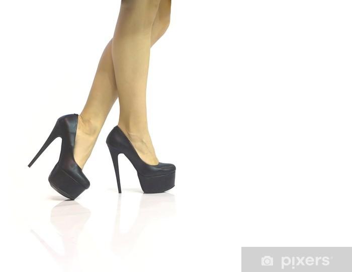 sexiga skor höga klackar