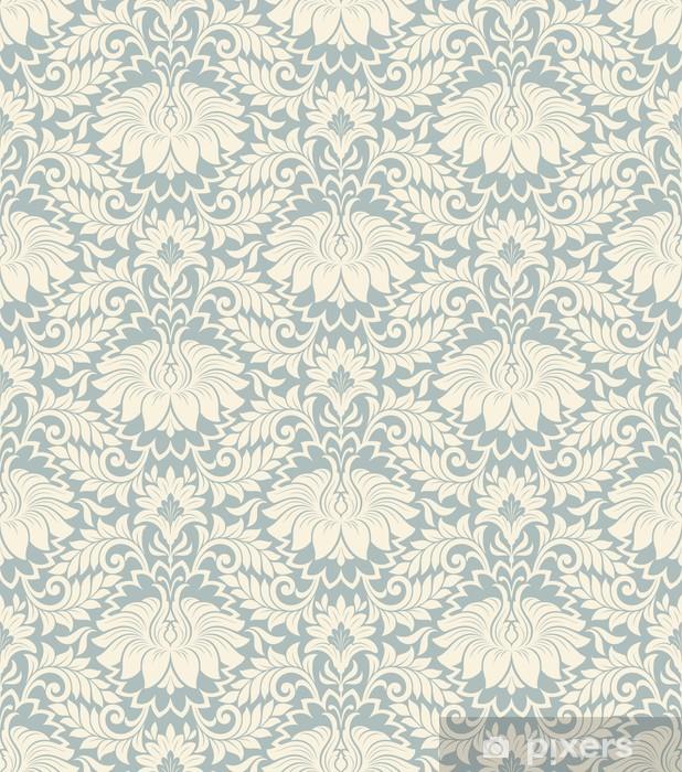 Mural de Parede em Vinil seamless vintage flower pattern background vector - Estilos