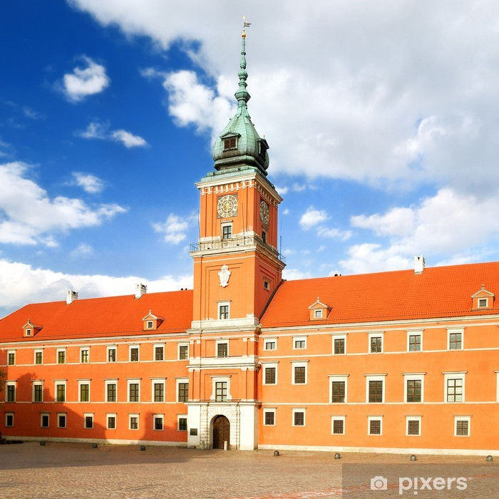Naklejka Pixerstick Król zamku w Starówka w Warszawie - Tematy