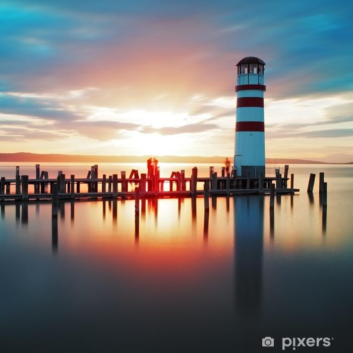 Fototapeta winylowa Ocean latarni sunset - Tematy