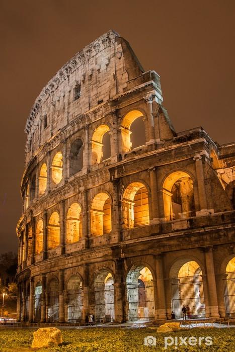 Pixerstick Sticker Colosseum in Rome, Italië - Rome