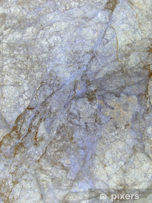 Carta Da Parati In Vinile Luce Marmo Blu Texture Di Sfondo