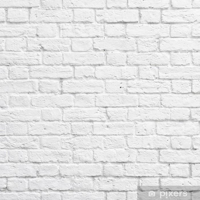 Attrayant Papier Peint Mur Brique Blanc