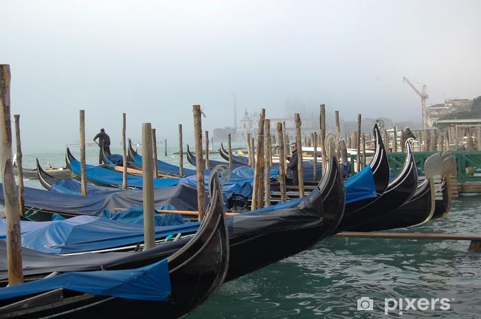Papier peint vinyle Gondole a Venezia - Paysages urbains