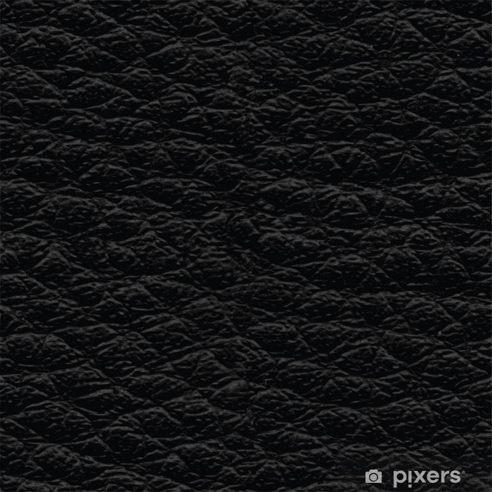 Black leather seamless texture Wall Mural • Pixers® - We ...Black Leather Texture Seamless