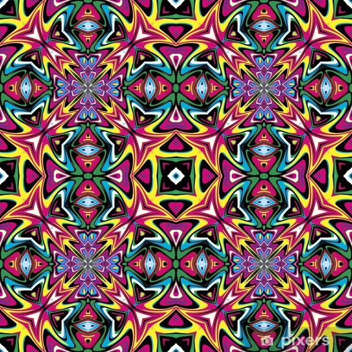 Vinilo para Nevera Diseño moderno tela mexicana - Estilos