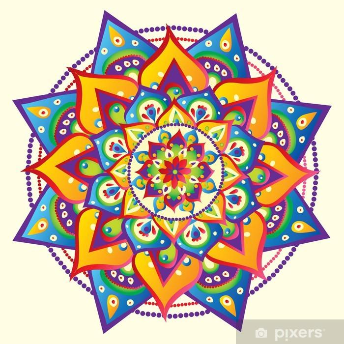 Plakat Mandala - Style