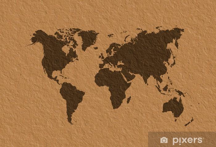 Carte Du Monde Parchemin papier peint carte du monde parchemin