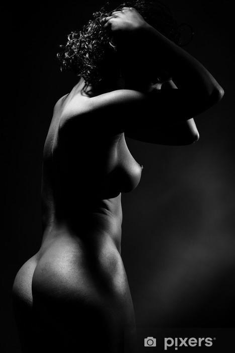 Fototapeta winylowa Naga kobieta w profilu - Tematy
