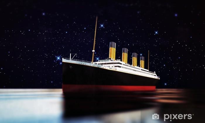 Fototapeta winylowa Statek wycieczkowy - Tematy