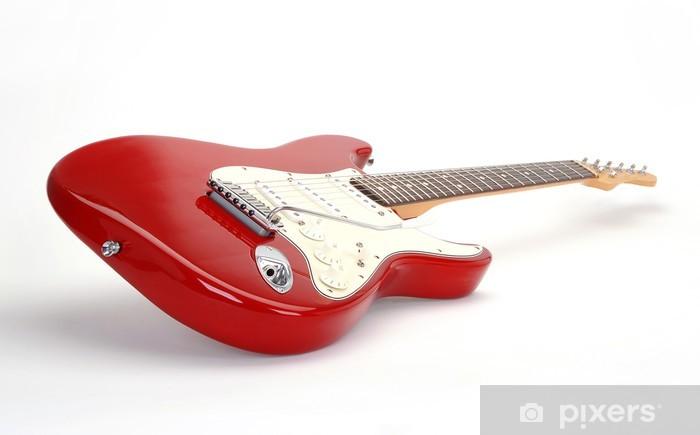 Papier Peint Papier Guitare Électrique Peint Guitare RougeOblique Fcul13T5KJ