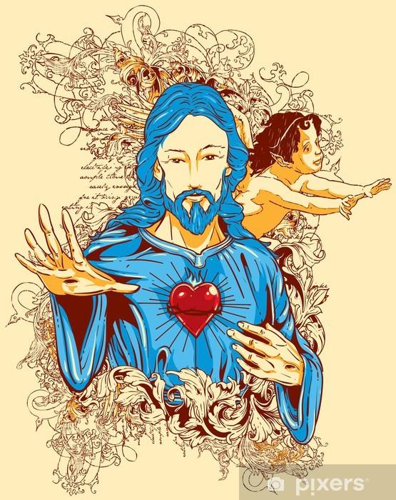 Naklejka Pixerstick Jezus - Tematy