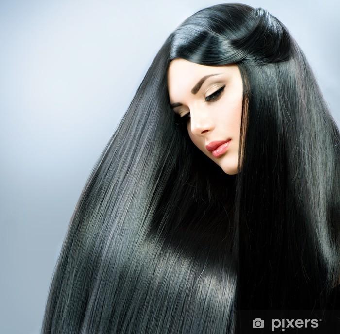 Lange Glatte Haare Frisuren Lange Glatte Haare Runde Gesichter