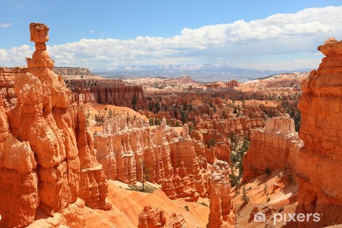 Bryce Canyon National Park landscape, Utah, USA Pixerstick Sticker - Themes