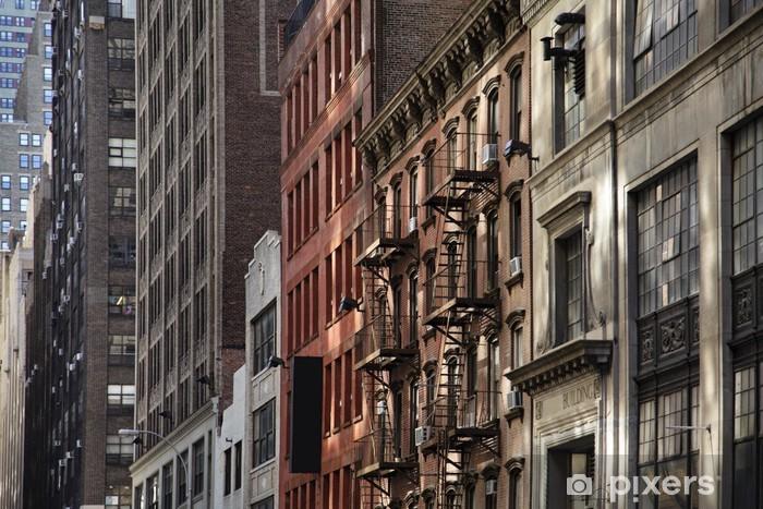 Naklejka Pixerstick Nowy Jork - Miasta amerykańskie
