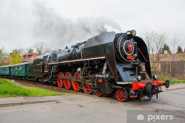 Sticker Pixerstick Train a vapeur - Thèmes