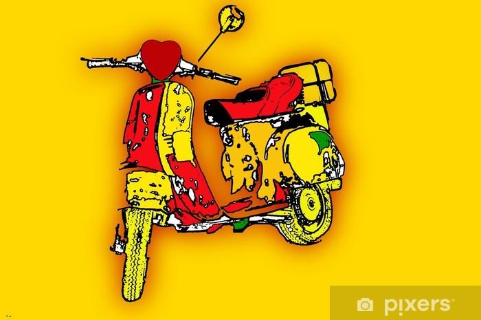 pop art Pixerstick Sticker - Styles