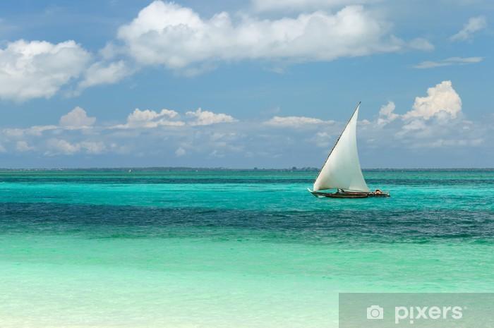 Naklejka Pixerstick Tanzania - Zanzibar - Tematy