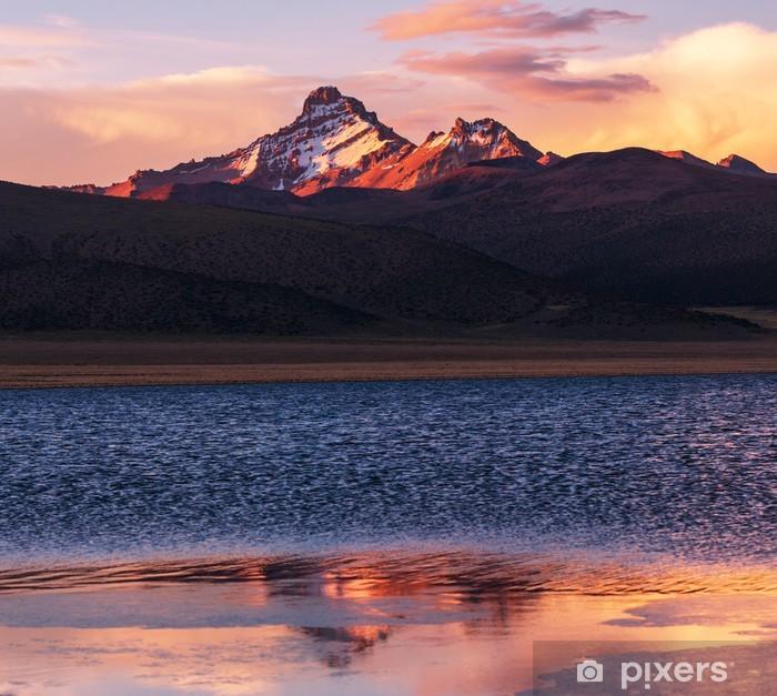 Vinylová fototapeta Hory v Bolívii - Vinylová fototapeta