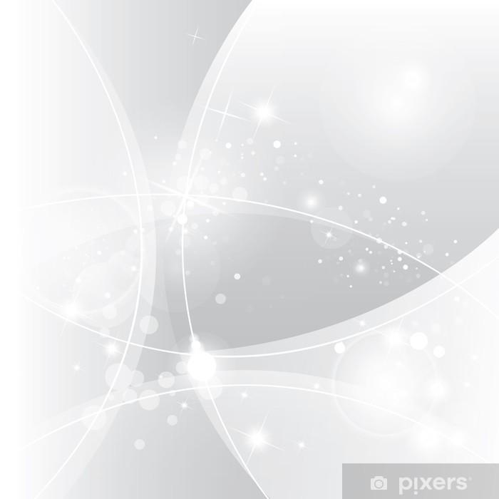 Vinyl Fotobehang Zilver abstract vector achtergrond - Nationale Evenementen