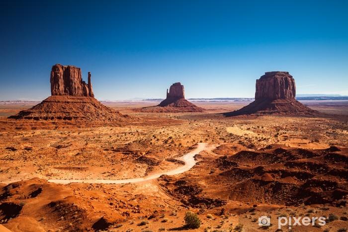 Vinyl Fotobehang Monument Valley, USA - Woestijn