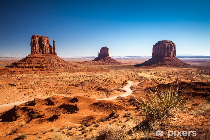 Monument Valley, USA Pixerstick Sticker - Desert