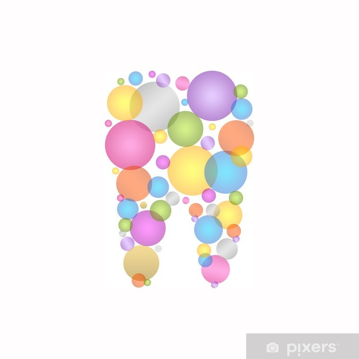 Naklejka Pixerstick Logo stomatologiczne - Zdrowie i medycyna