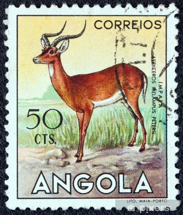 Impala Angola 1953 Wall Mural Pixers We Live To Change