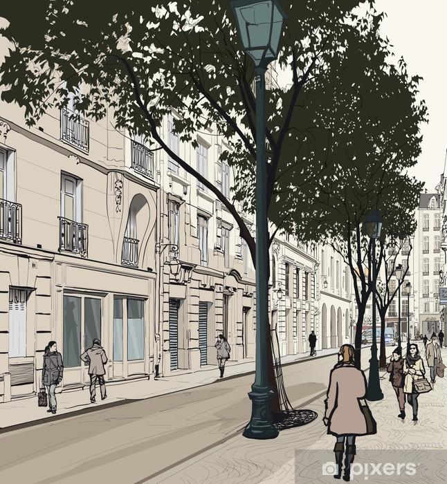 Naklejka Pixerstick Montmartre w Paryżu - Tematy