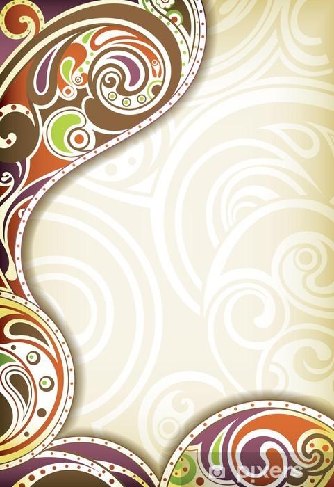 Papier peint vinyle Abstract curve - Arrière plans