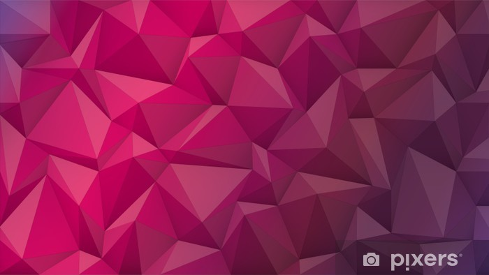 abstract background from crystal Pixerstick Sticker - Styles