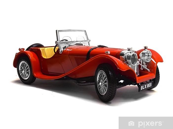 Pixerstick-klistremerke Oldtimer Modellauto, Classic Car - På Veien