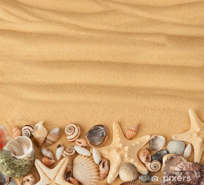 Carta Da Parati Conchiglie Di Mare E Sabbia Sfondo Pixers
