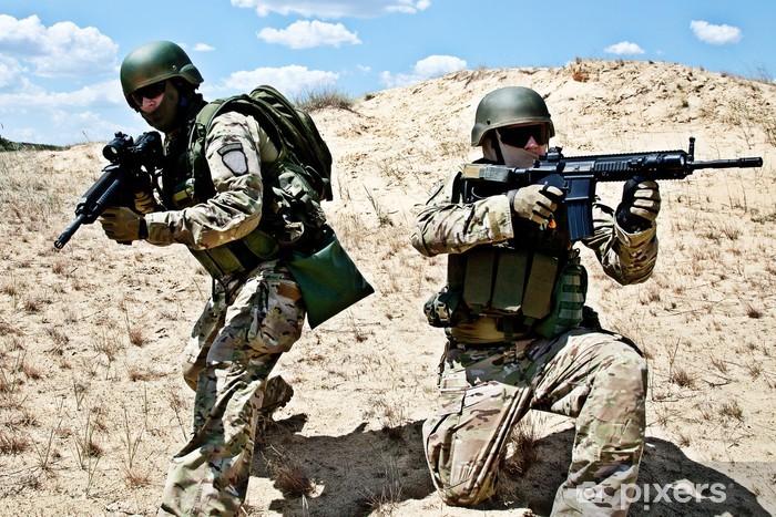 Sticker Pixerstick Opération militaire - Thèmes