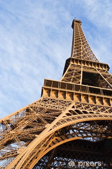 Vinyl-Fototapete Der Eiffelturm - Europäische Städte