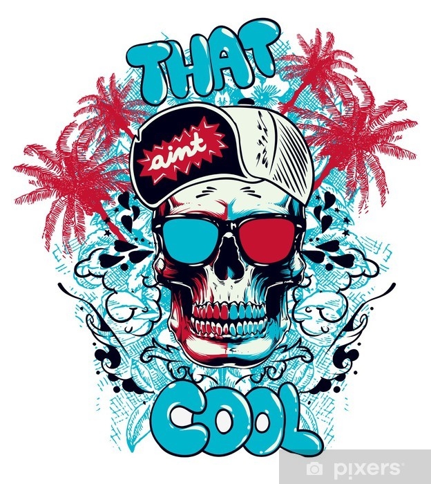 That aint cool Pixerstick Sticker - Wall decals