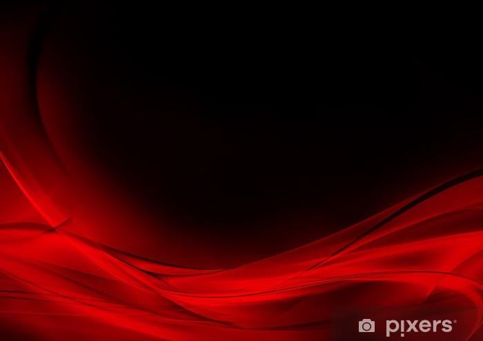 Carta Da Parati In Vinile Astratto Sfondo Luminoso Rosso E Nero