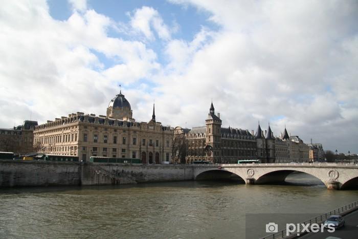 La Conciergerie, Paris Pixerstick Sticker - European Cities