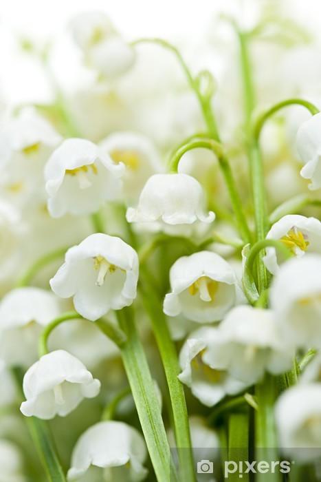 Papier peint vinyle スズラン の 花 - Fleurs