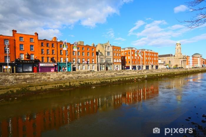 Fotomural Estándar Dublín y el río Liffey - Europa