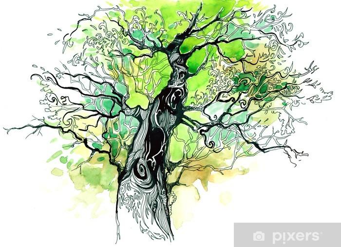 Fototapeta winylowa Pnia drzewa - iStaging
