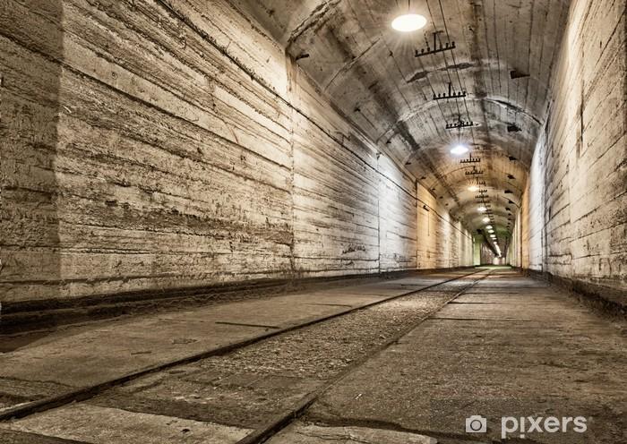 Papier peint vinyle Bunker souterrain de la guerre froide. Ukraine, Sébastopol - Thèmes