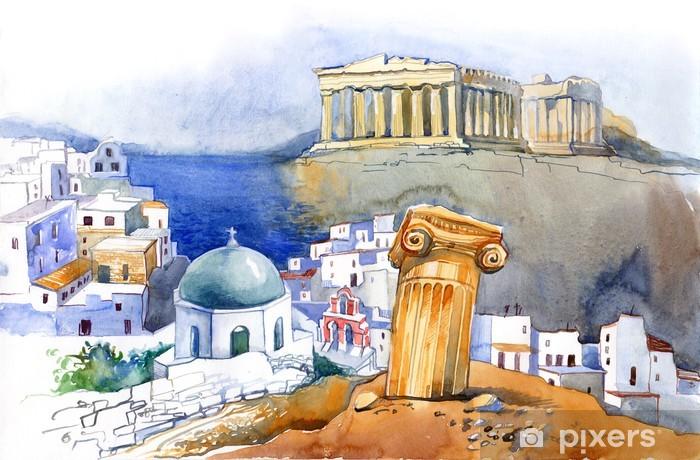 Fotomural Estándar Grecia -